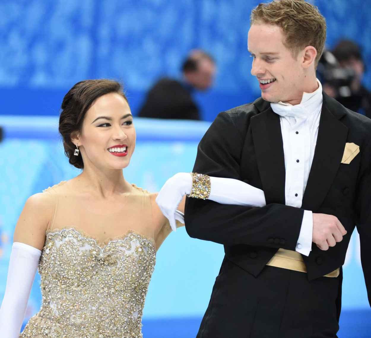 Madison Chock - 2015 Sochi Winter Olympics - Figure Skating Ice Dance-1