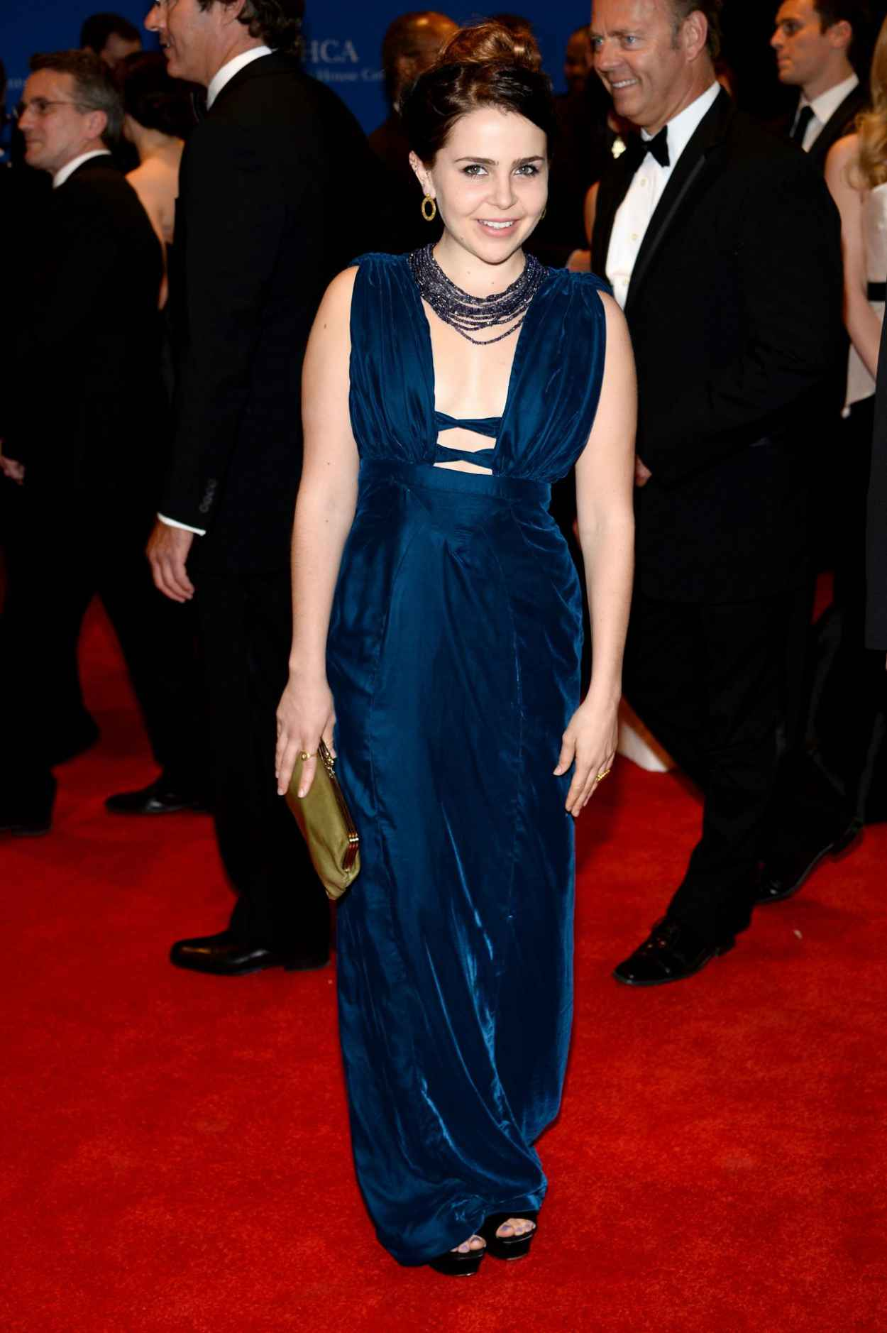 Mae Whitman - 2015 White House Correspondents- Dinner in Washington-1