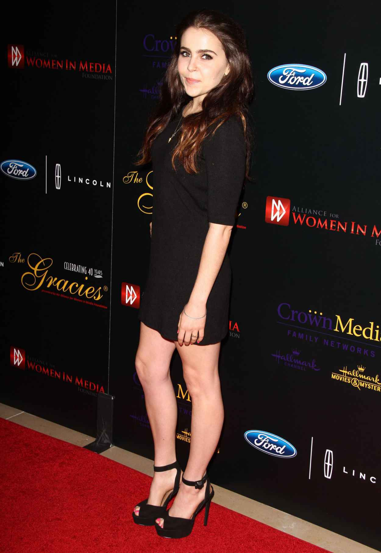 Mae Whitman - 2015 Gracies Awards in Beverly Hills-3
