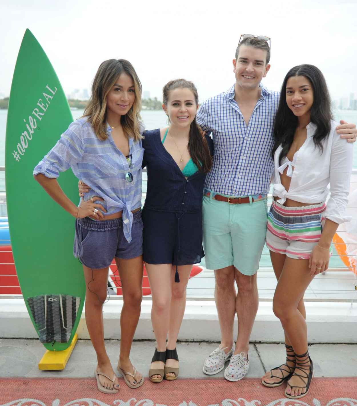 Mae Whitman - Aerie Celebrates Swim With #AerieREAL Selfie in Miami Beach, March 2015-4