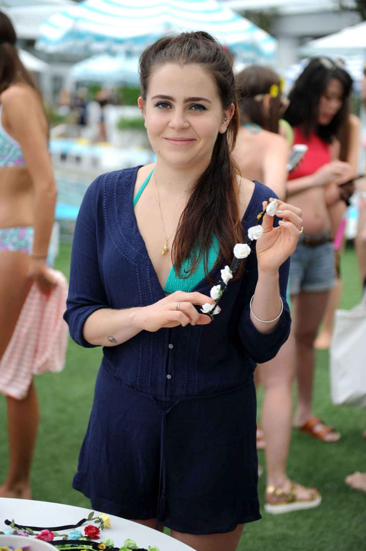 Mae Whitman - Aerie Celebrates Swim With #AerieREAL Selfie in Miami Beach, March 2015-5