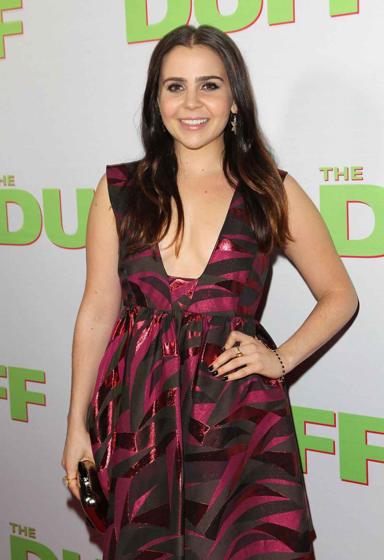 Mae Whitman - -The Duff- Fan Screening in Los Angeles-1