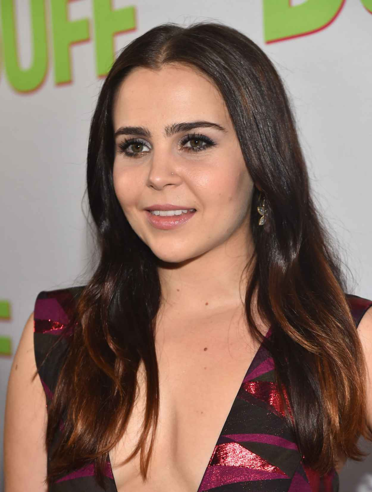Mae Whitman - -The Duff- Fan Screening in Los Angeles-2