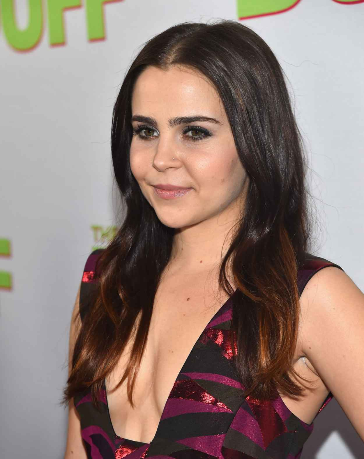 Mae Whitman - -The Duff- Fan Screening in Los Angeles-3