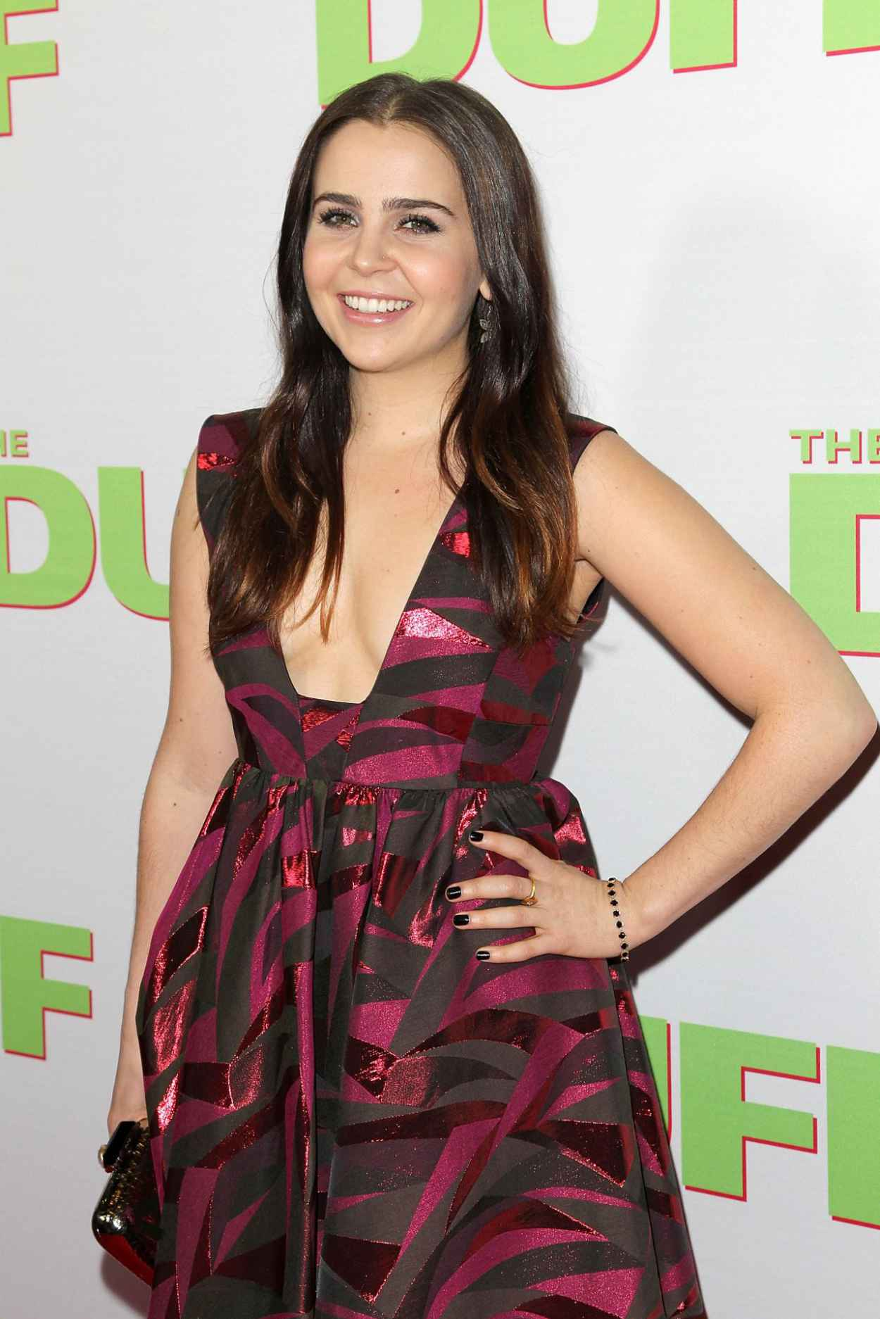 Mae Whitman - -The Duff- Fan Screening in Los Angeles-4