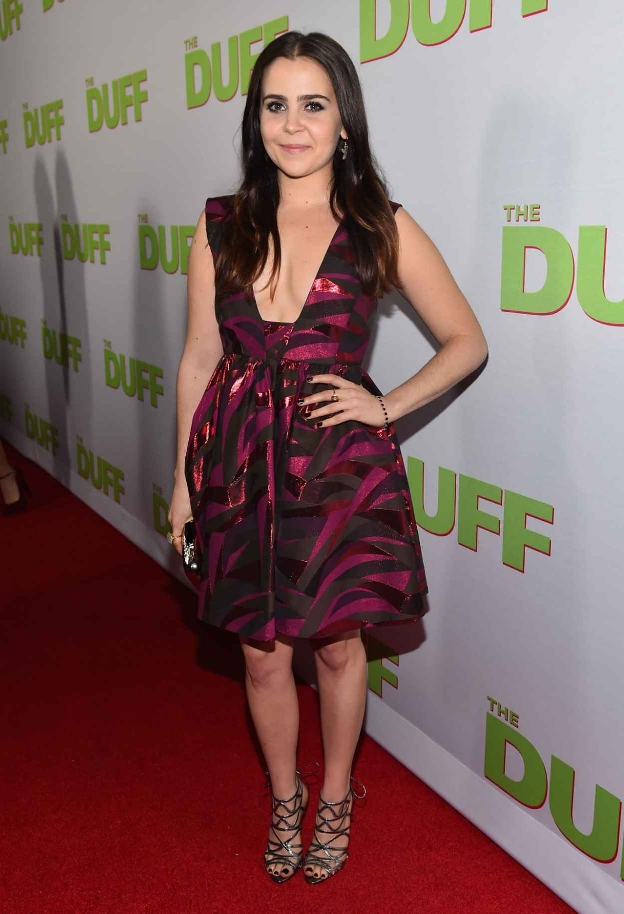 Mae Whitman - -The Duff- Fan Screening in Los Angeles-5