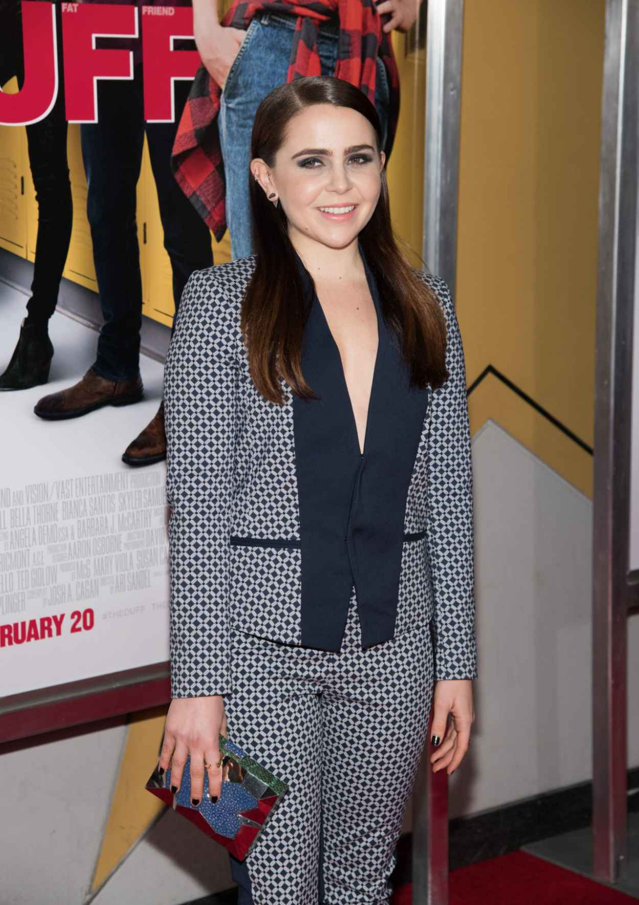 Mae Whitman - The Duff premiere in New York City-1