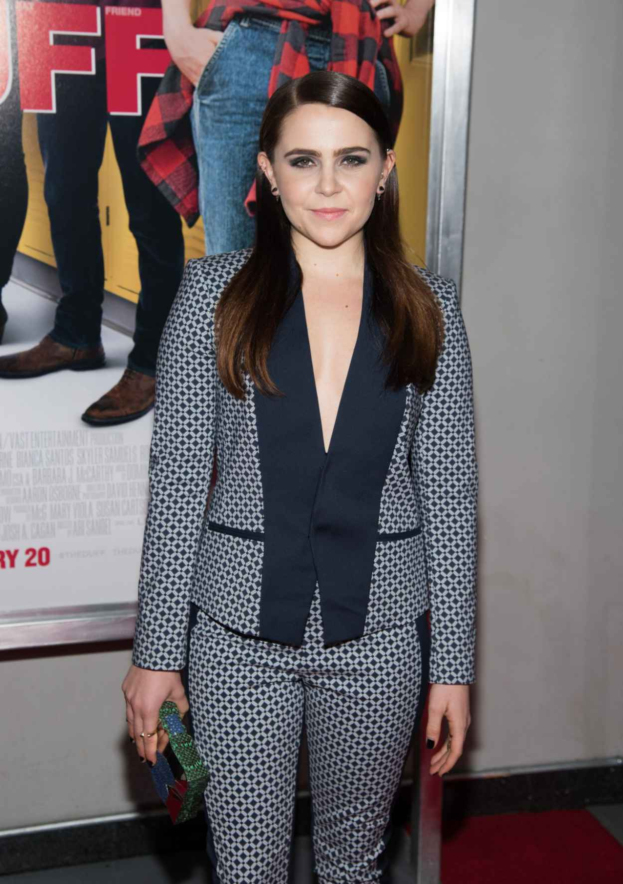 Mae Whitman - The Duff premiere in New York City-3