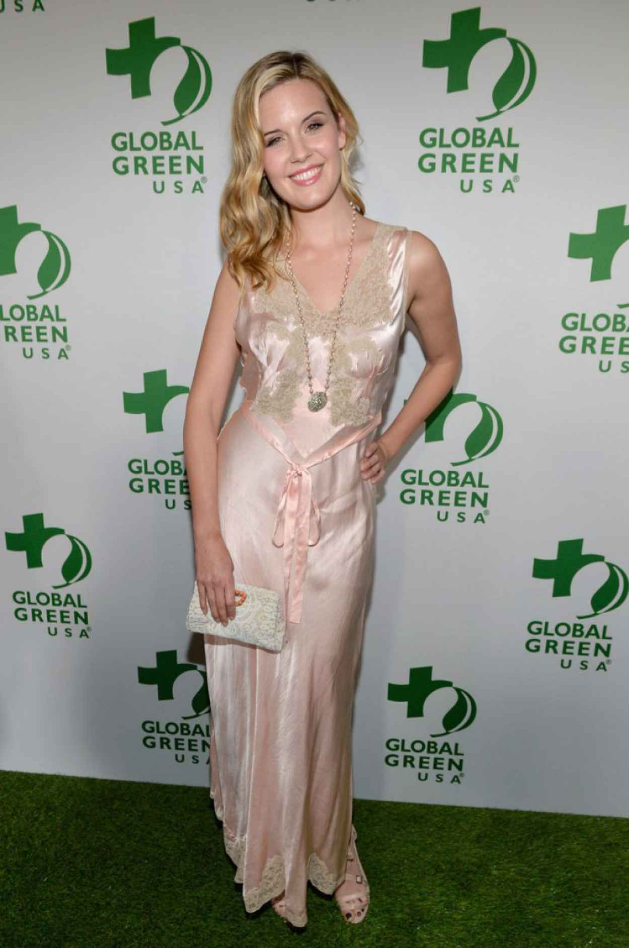 Maggie Grace 2015 Global Green Usas Pre Oscar Party In