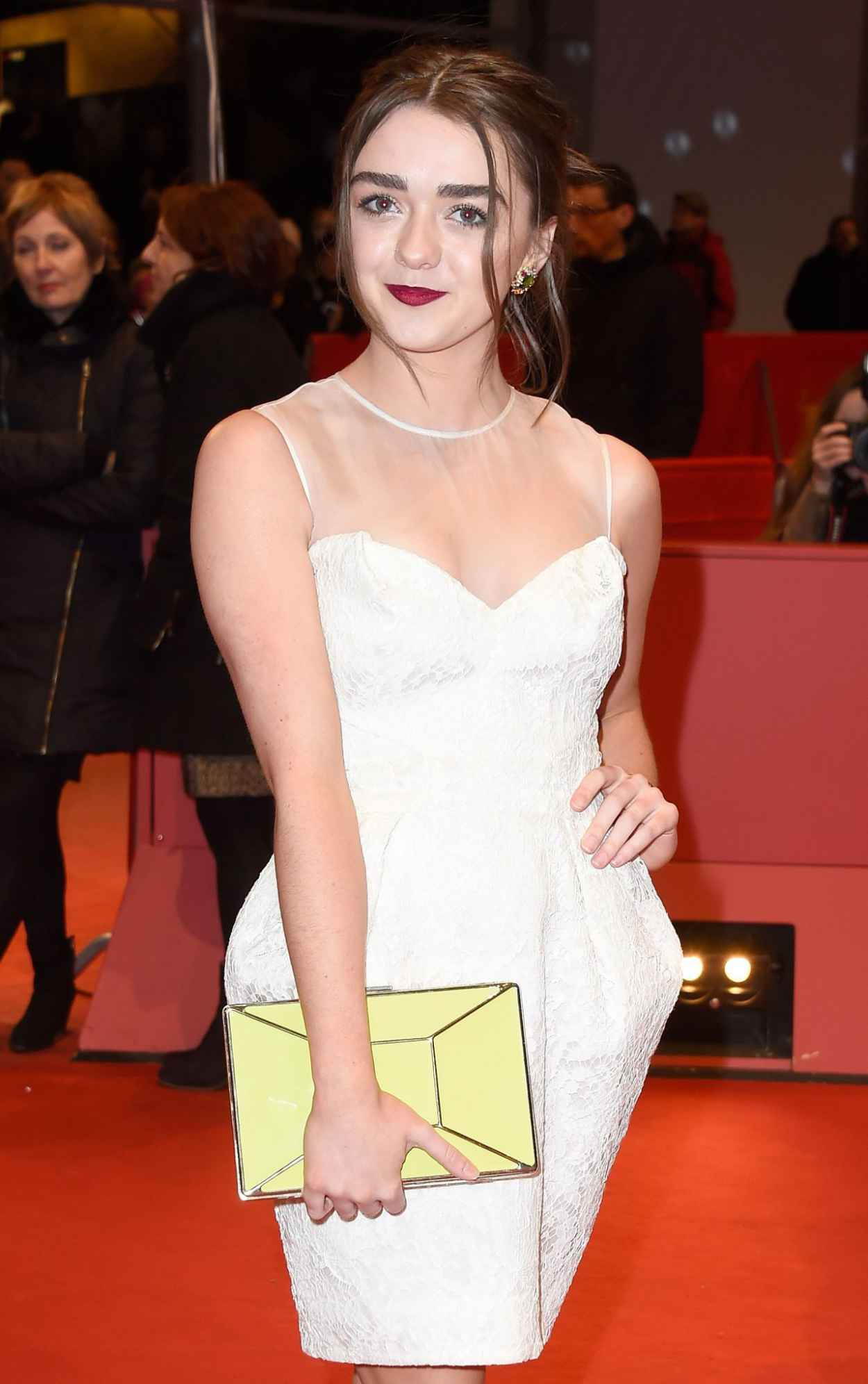 Maisie Williams - As We Were Dreaming Premiere at Berlinale Film Festival-1