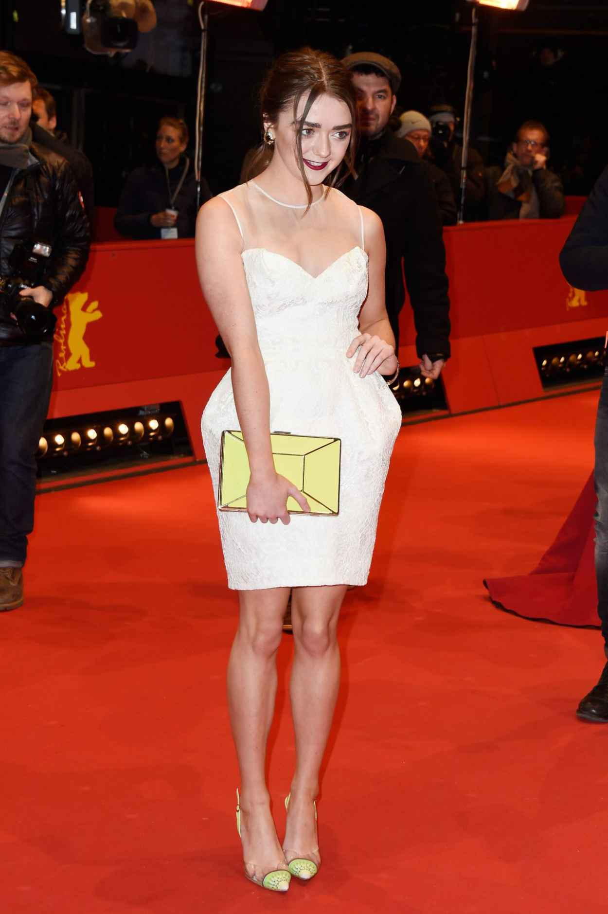 Maisie Williams - As We Were Dreaming Premiere at Berlinale Film Festival-3