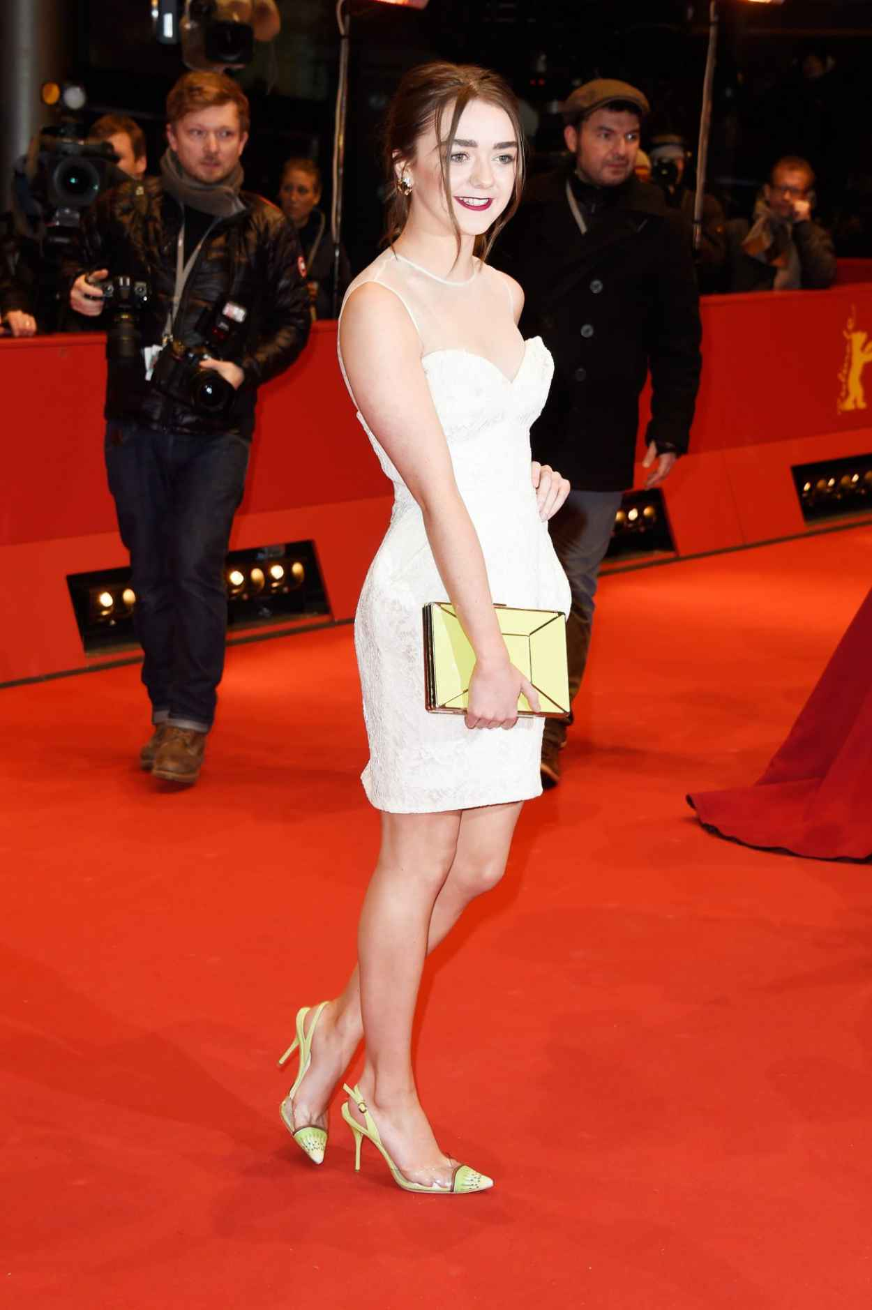 Maisie Williams - As We Were Dreaming Premiere at Berlinale Film Festival-4