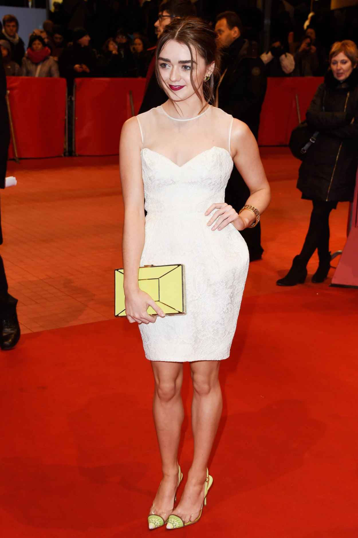 Maisie Williams - As We Were Dreaming Premiere at Berlinale Film Festival-5