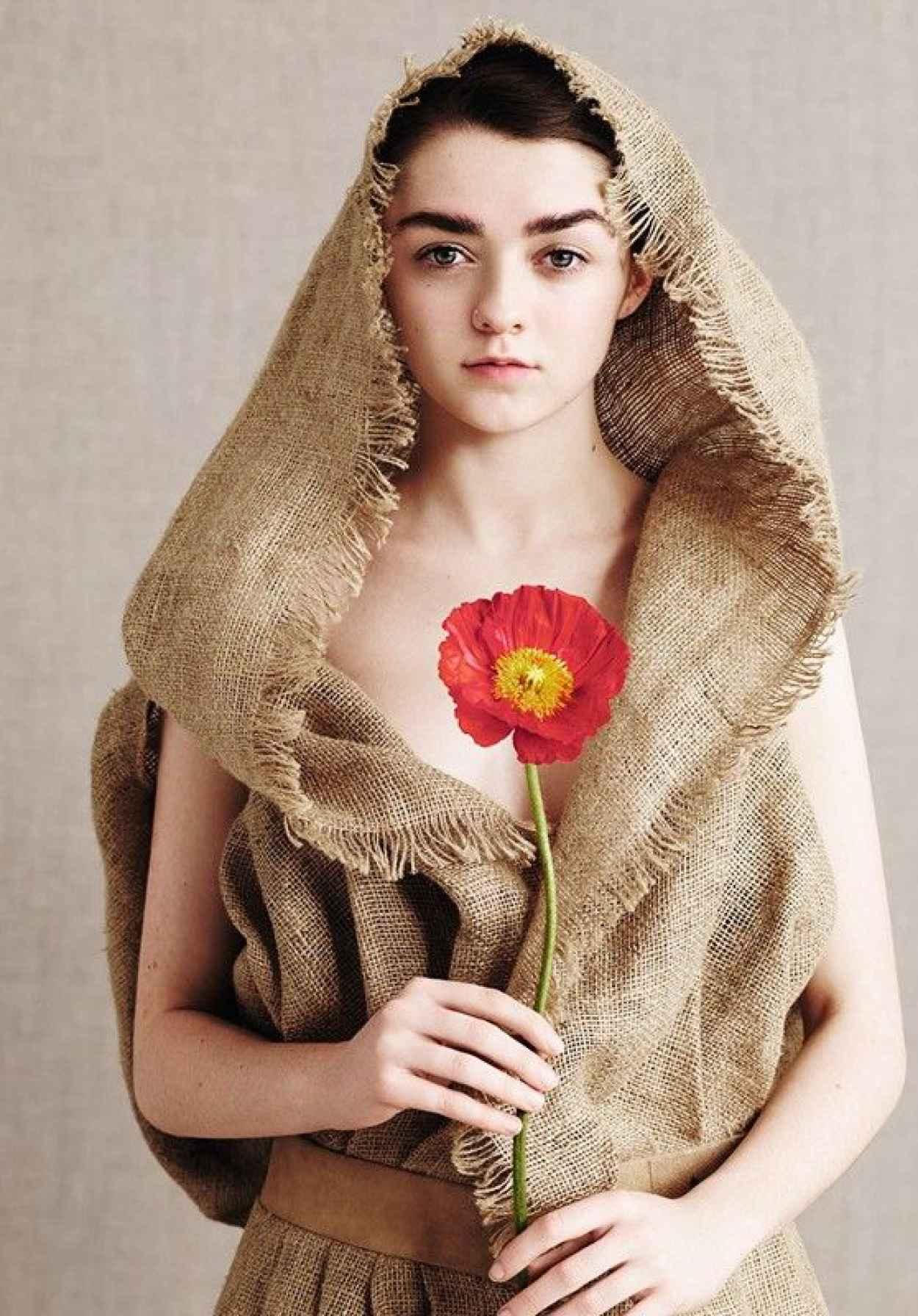Maisie Williams - Dazed Magazine Spring 2015 Issue-1
