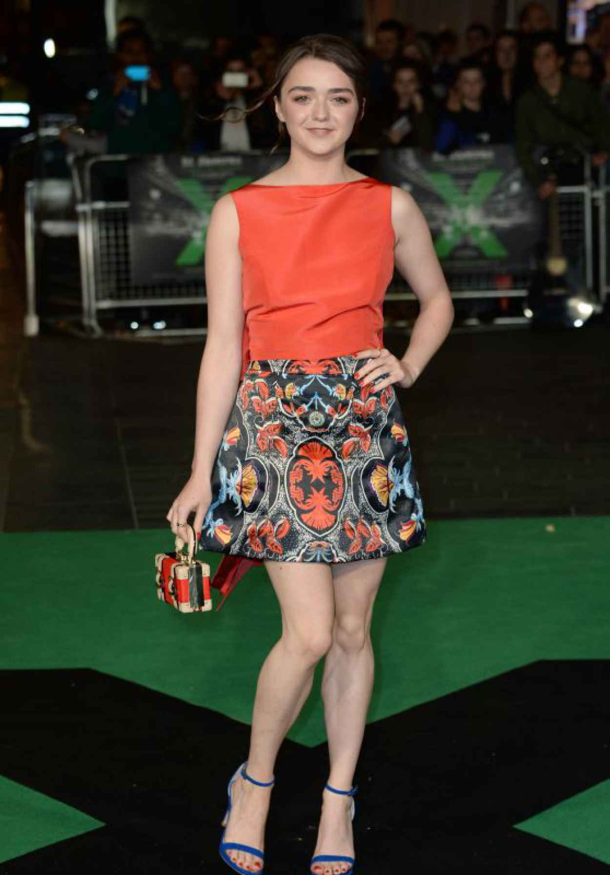 Maisie Williams - Ed Sheeran: Jumpers For Goalposts Premiere in London-1