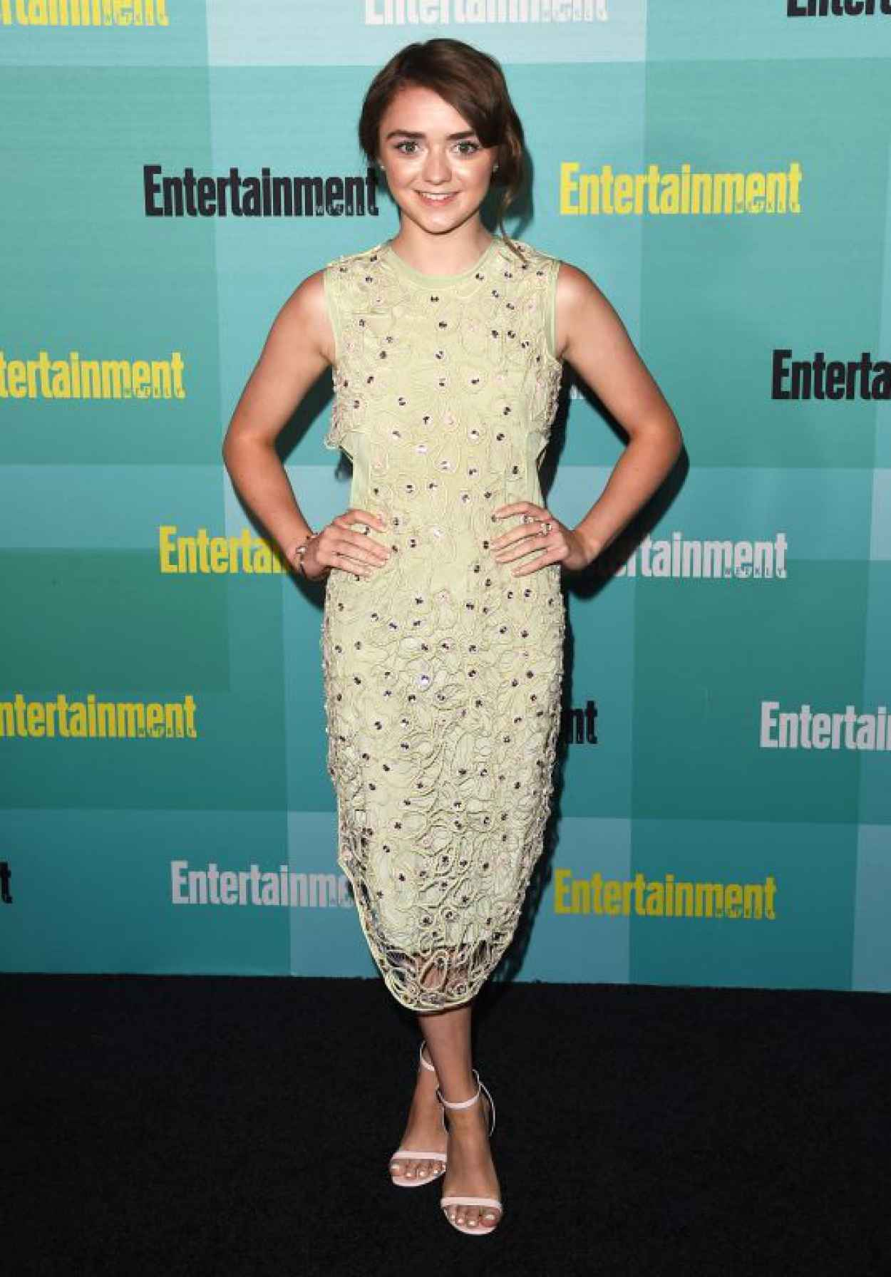 Maisie Williams - EW Party at Comic-Con in San Diego, July 2015-1