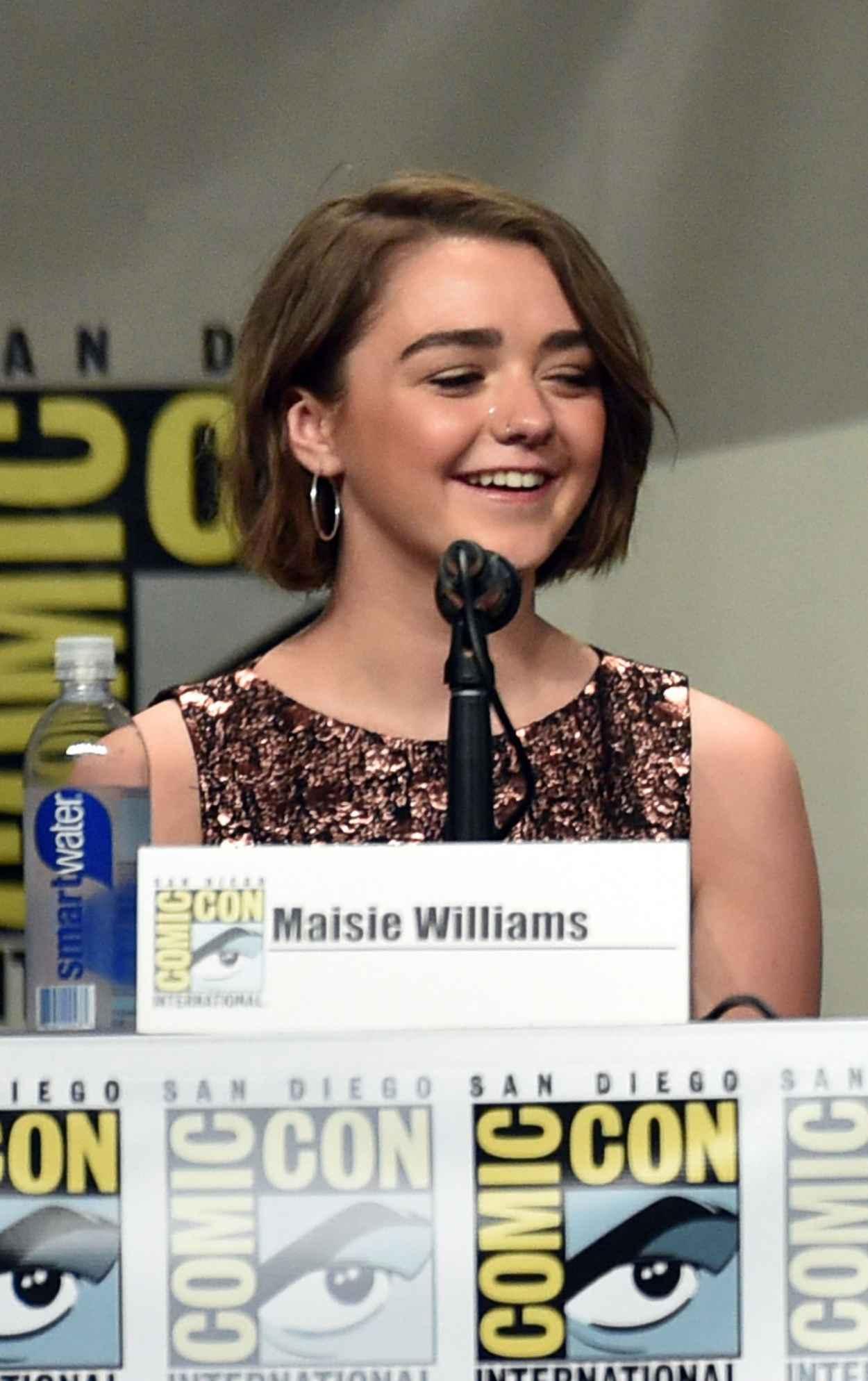 Maisie Williams - Game of Thrones Panel at SDCC 2015-1