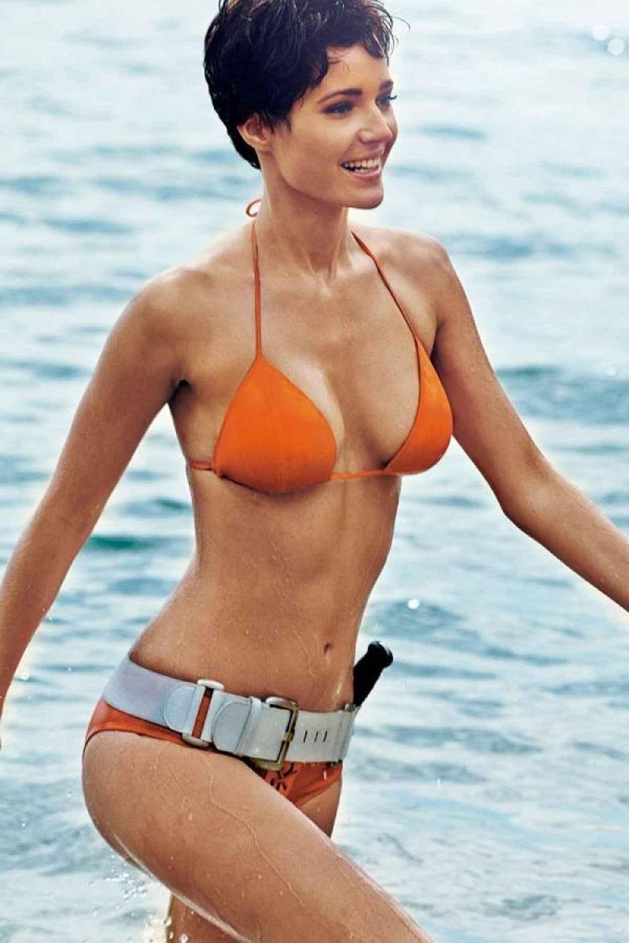 Malena Costa Bikini Photos - GQ Magazine (Spain) - June 2015 Issue-1