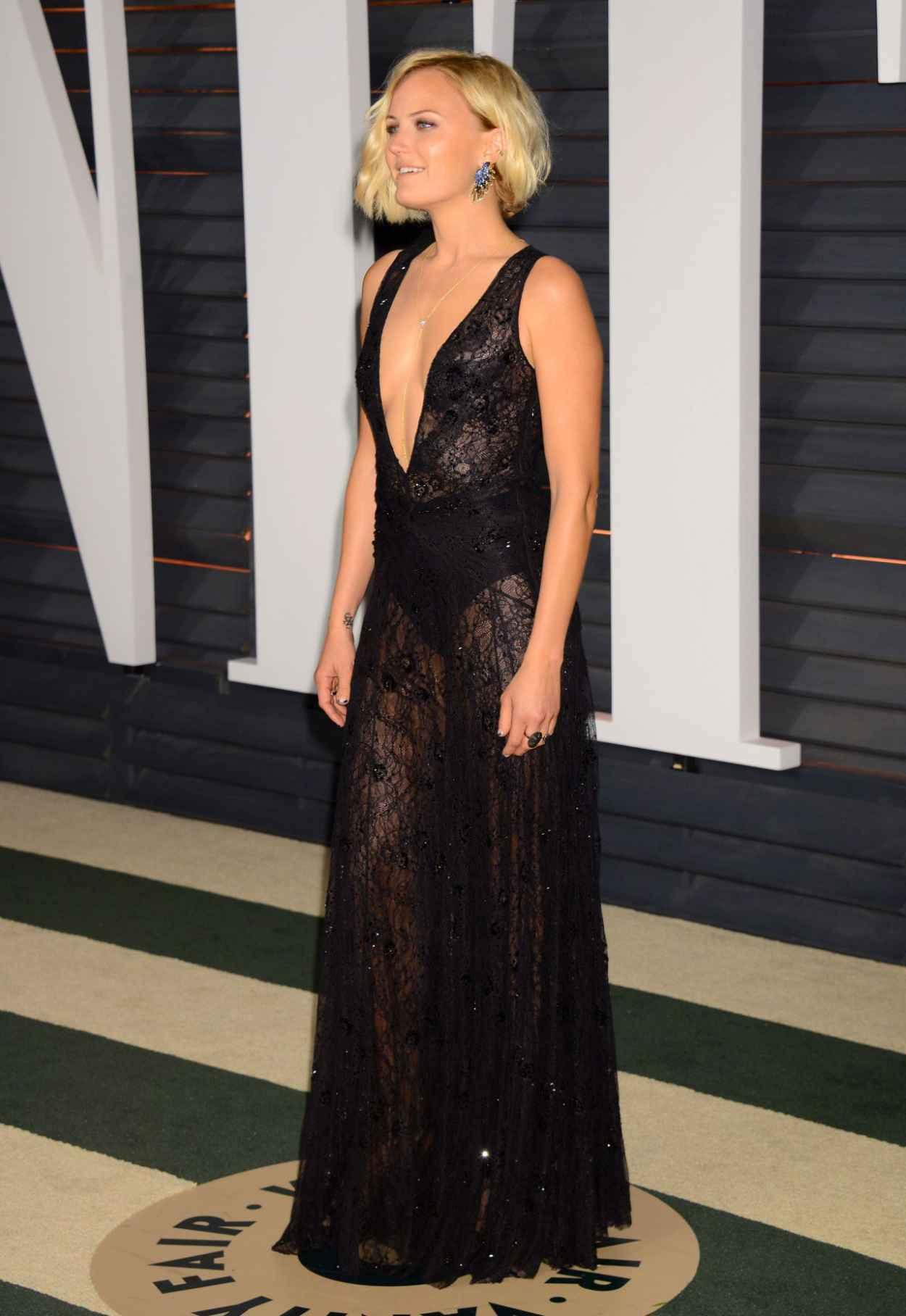 Malin Akerman – 2015 Vanity Fair Oscar Party in Hollywood ...