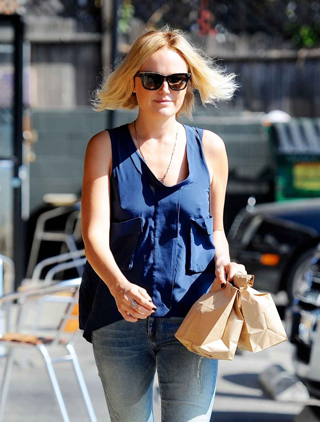 Malin Akerman in Jeans - Goes Out for Lunch - Los Angeles, February 2015-1