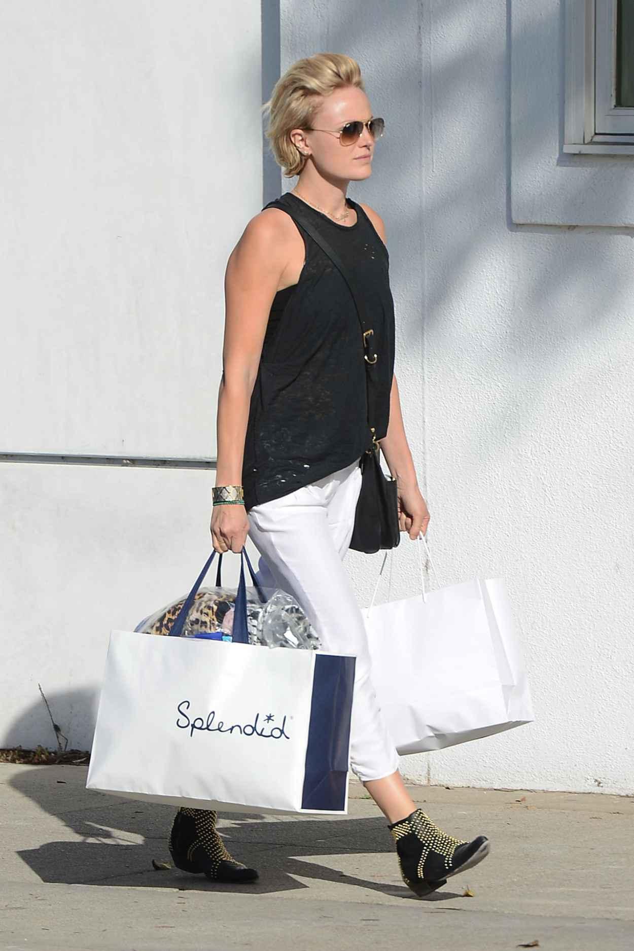 Malin Akerman - Shopping at Splendid in Beverly Hills, April 2015-2