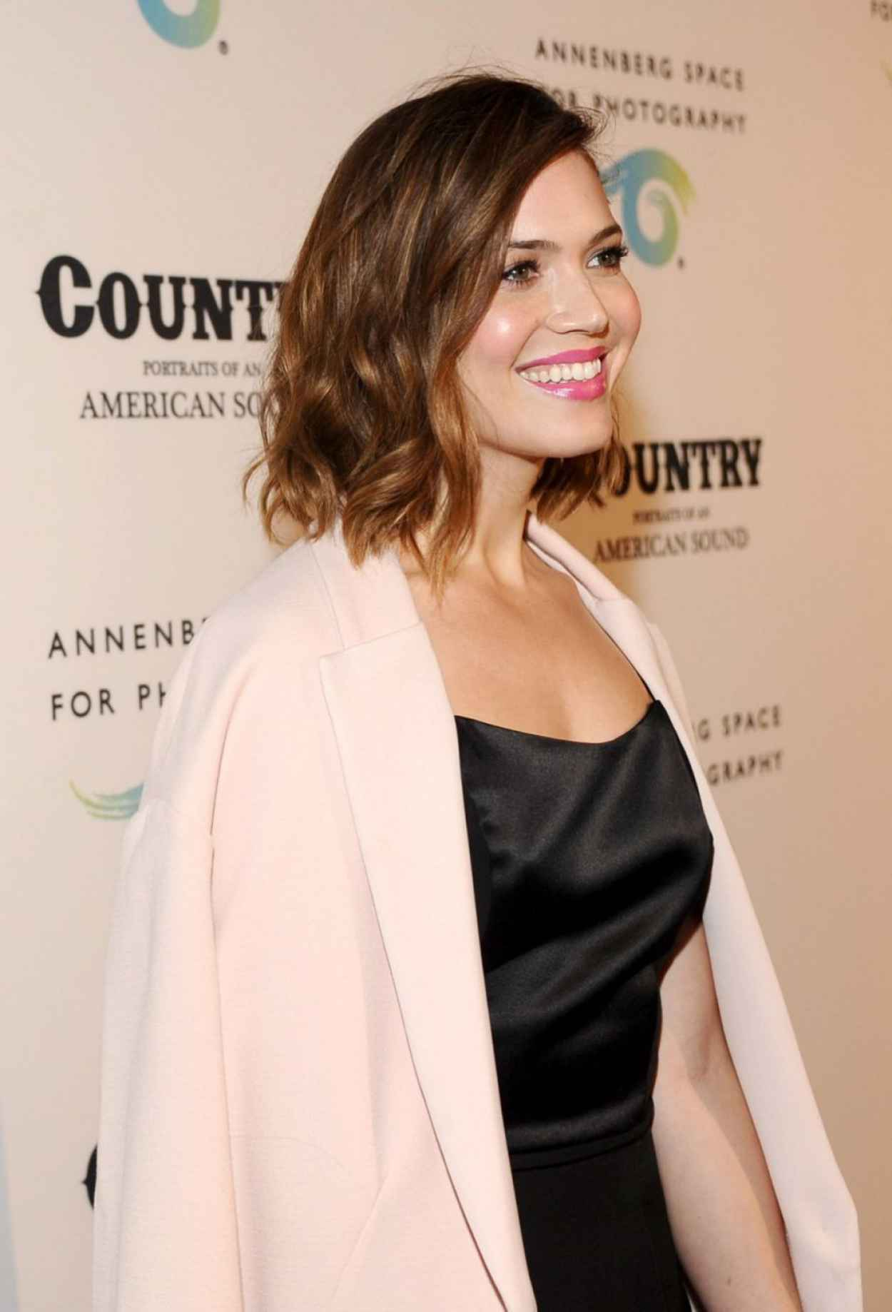 Mandy Moore - Country: Portraits Of An American Sound Opening in Century City - May 2015-1