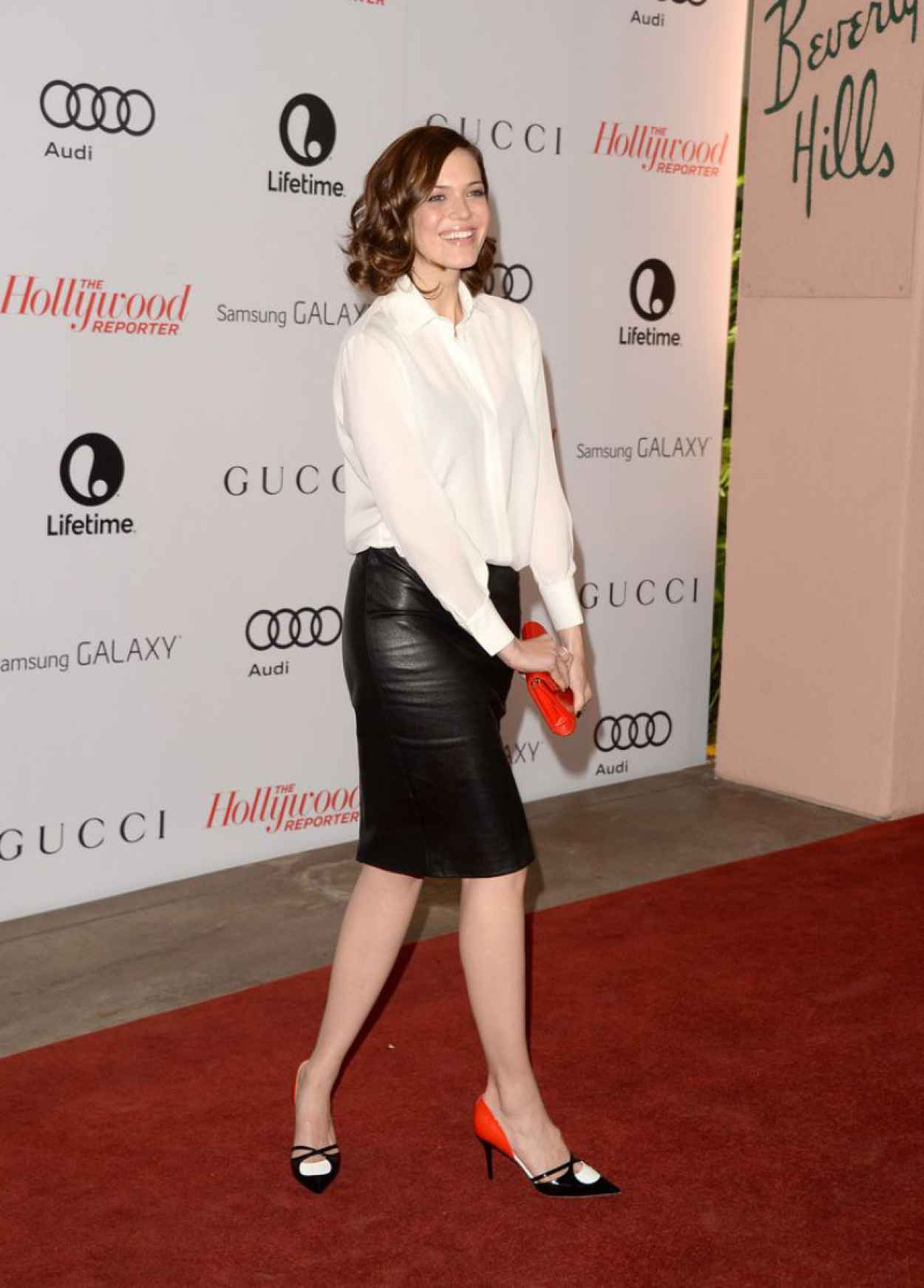 Mandy Moore Red Carpet Photos - THRs 22nd Women in Entertainment Breakfast in Beverly Hills-1