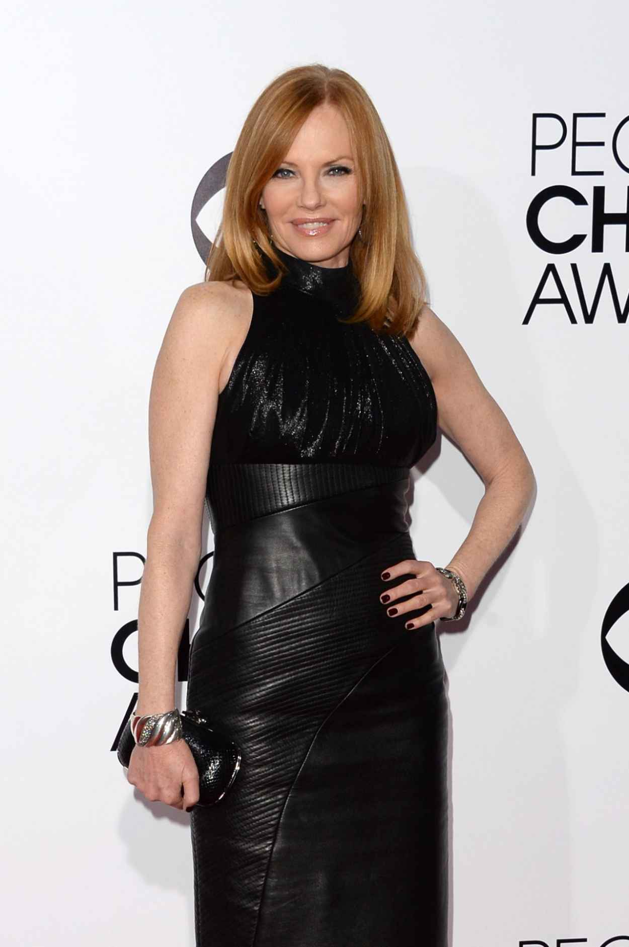 Marg Helgenberger Attends 2015 Peoples Choice Awards-1