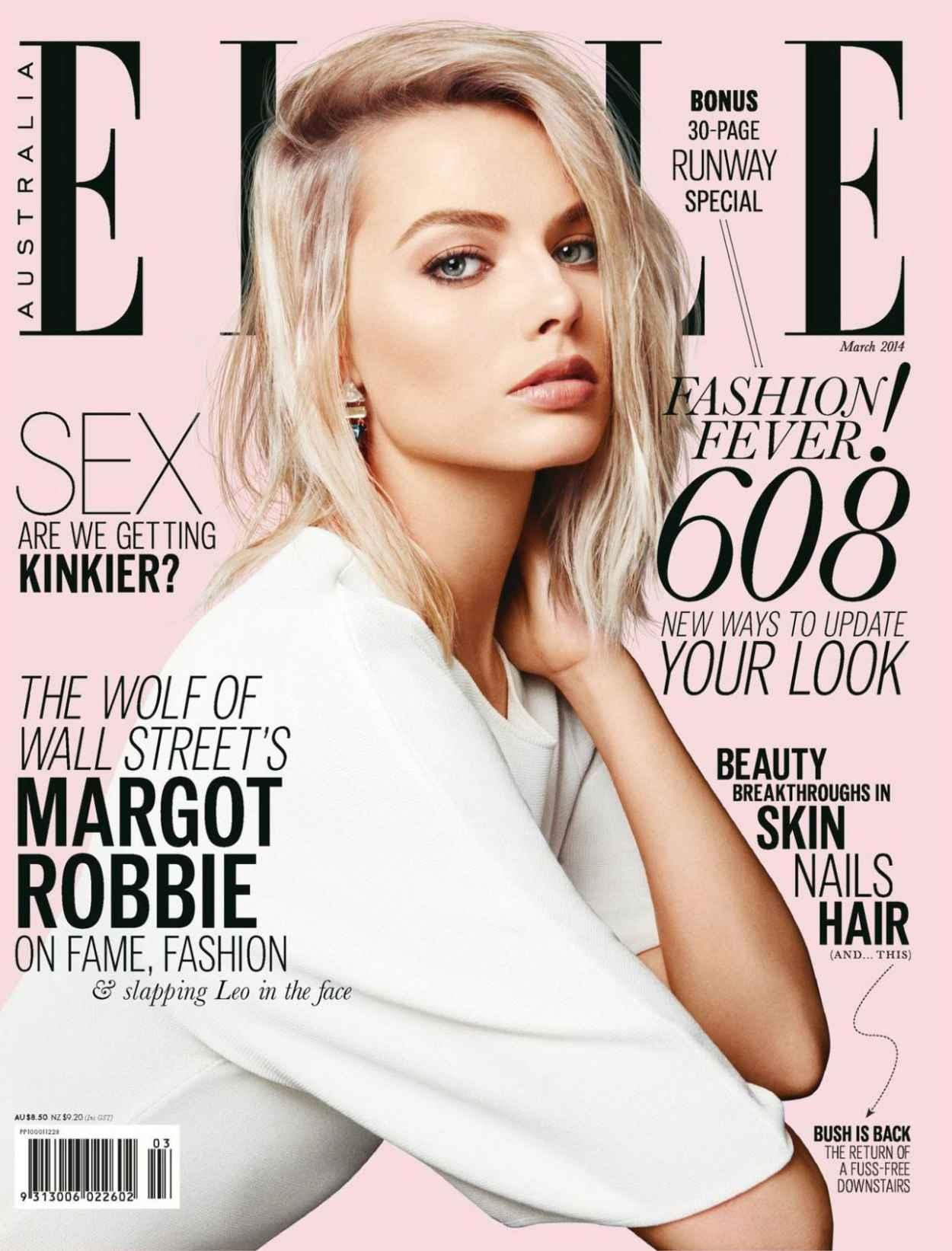 Margot Robbie - Elle Magazine (Australia) - March 2015 Cover-1
