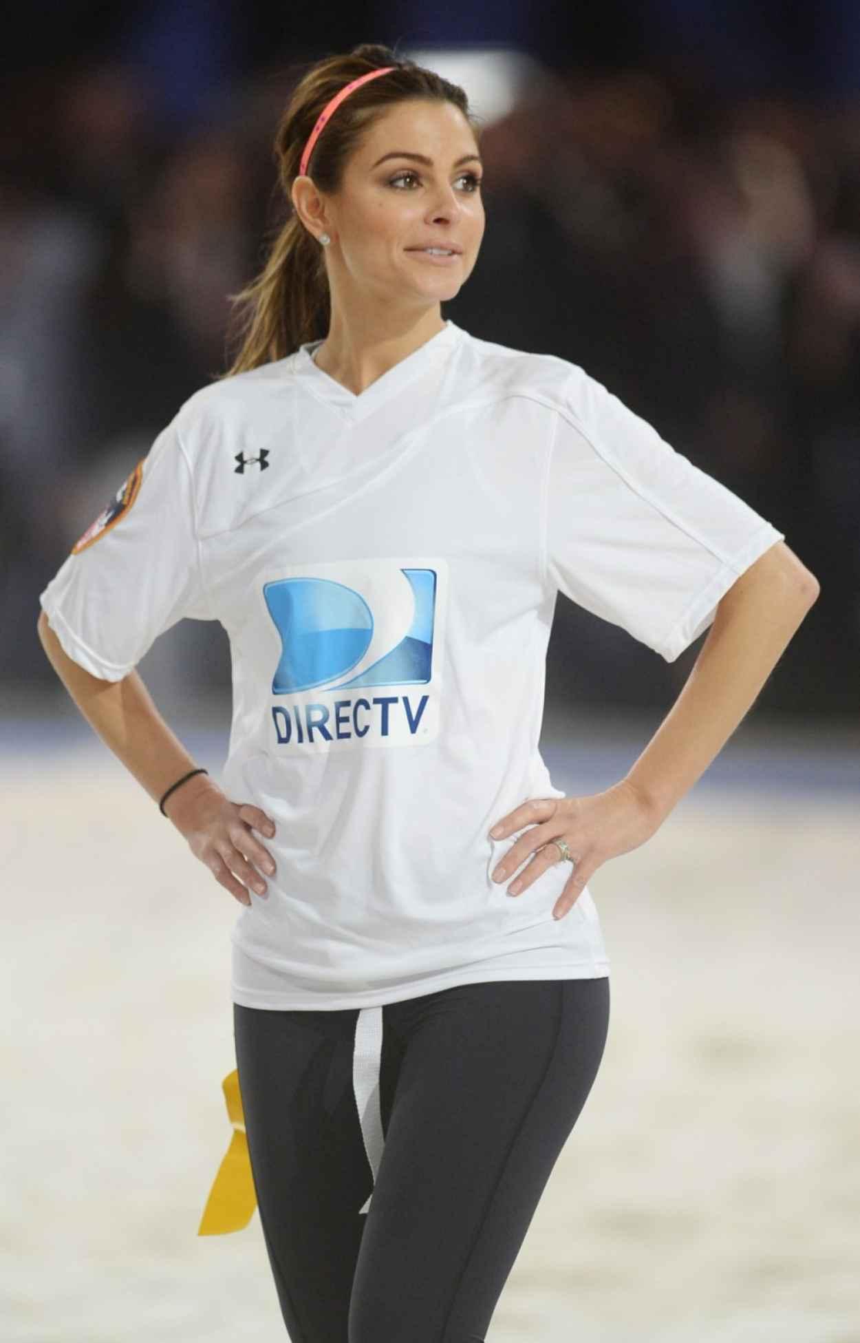Maria Menounos - DirecTV Celebrity Beach Bowl in New York, February 2015-1