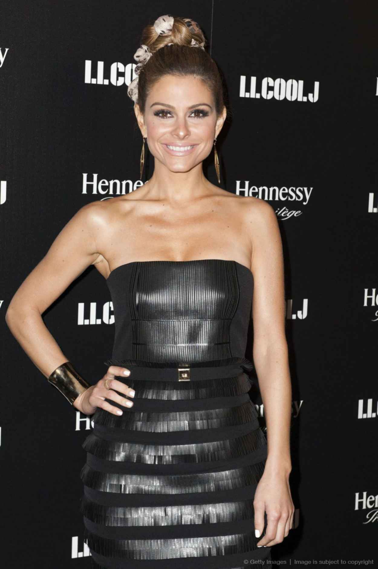 Maria Menounos - LL Cool J Hosted Pre-Grammy Awards Dinner - January 2015-1
