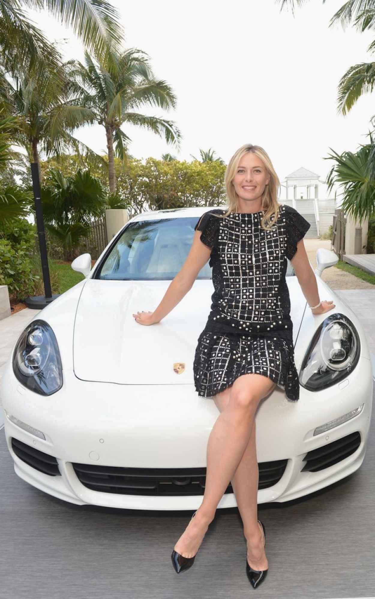 Maria Sharapova - Porsche Media Night in Miami - March 2015-1