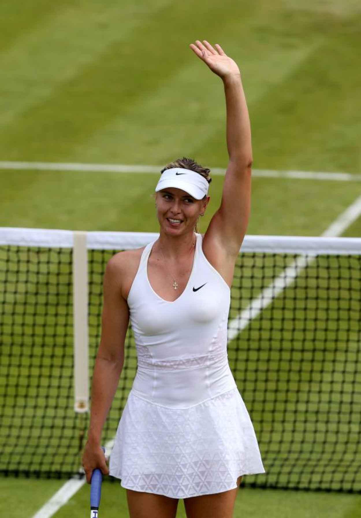 Maria Sharapova - Wimbledon Tournament 2015 - Second Round-1
