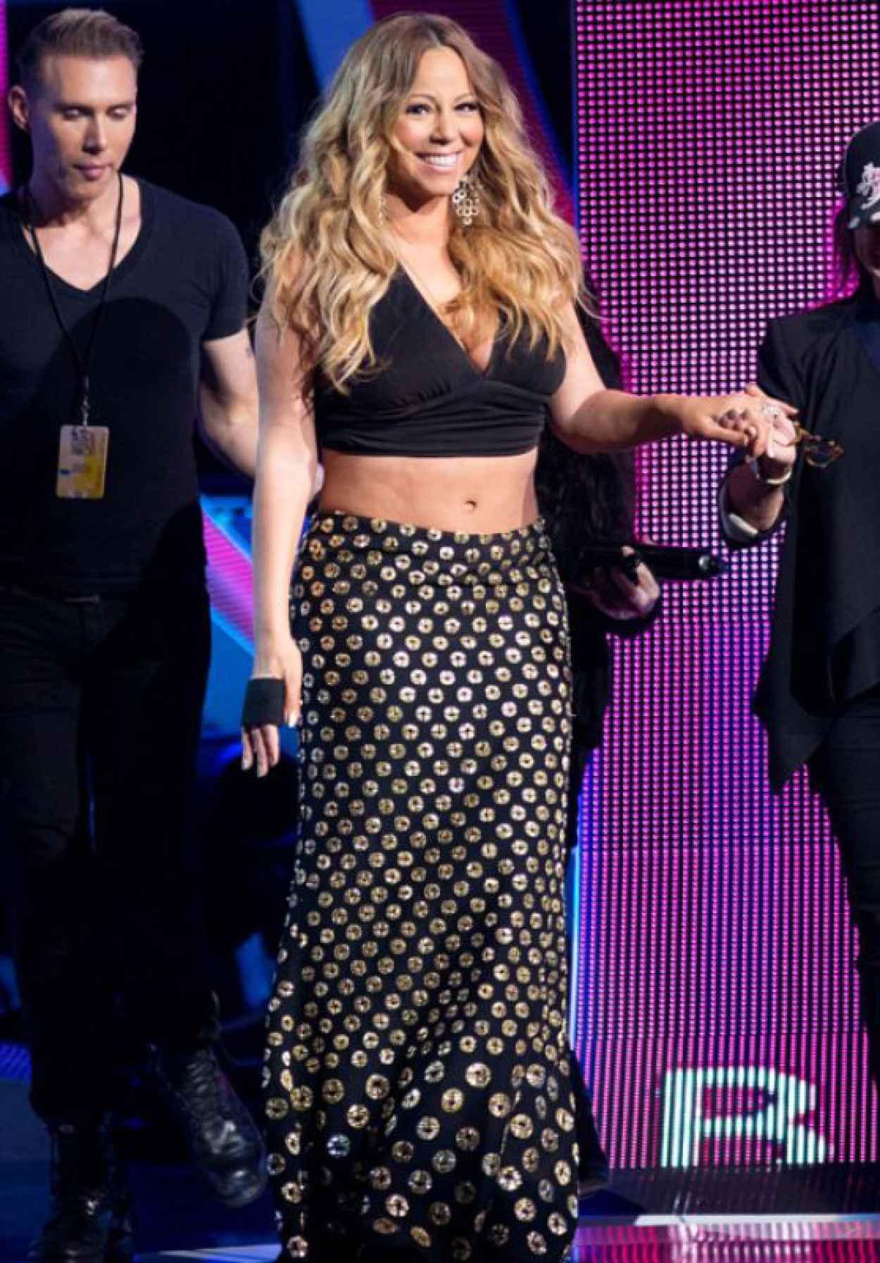 Mariah Carey at BETs 2015 Black Girls Rock Event-1