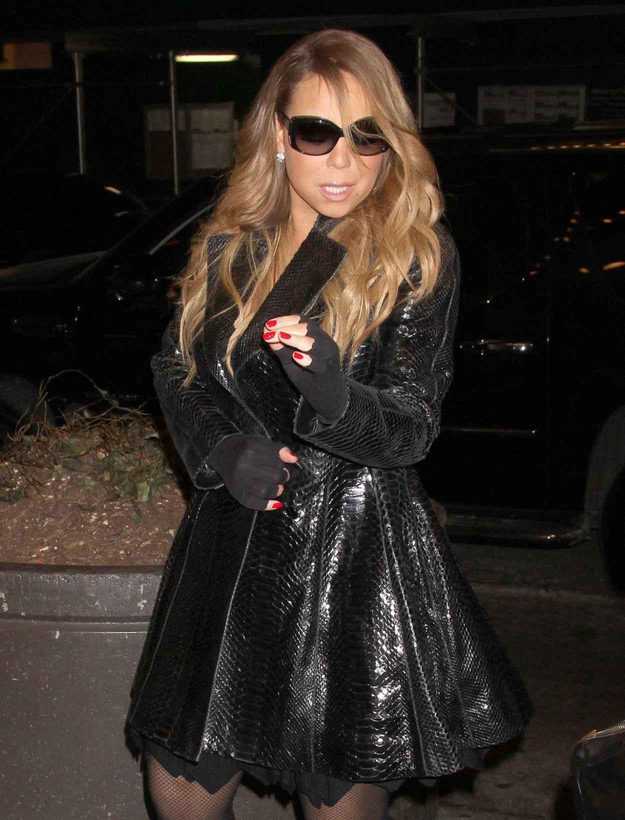 Mariah Carey - Stops by MTV Studios in New York, February 2015-1