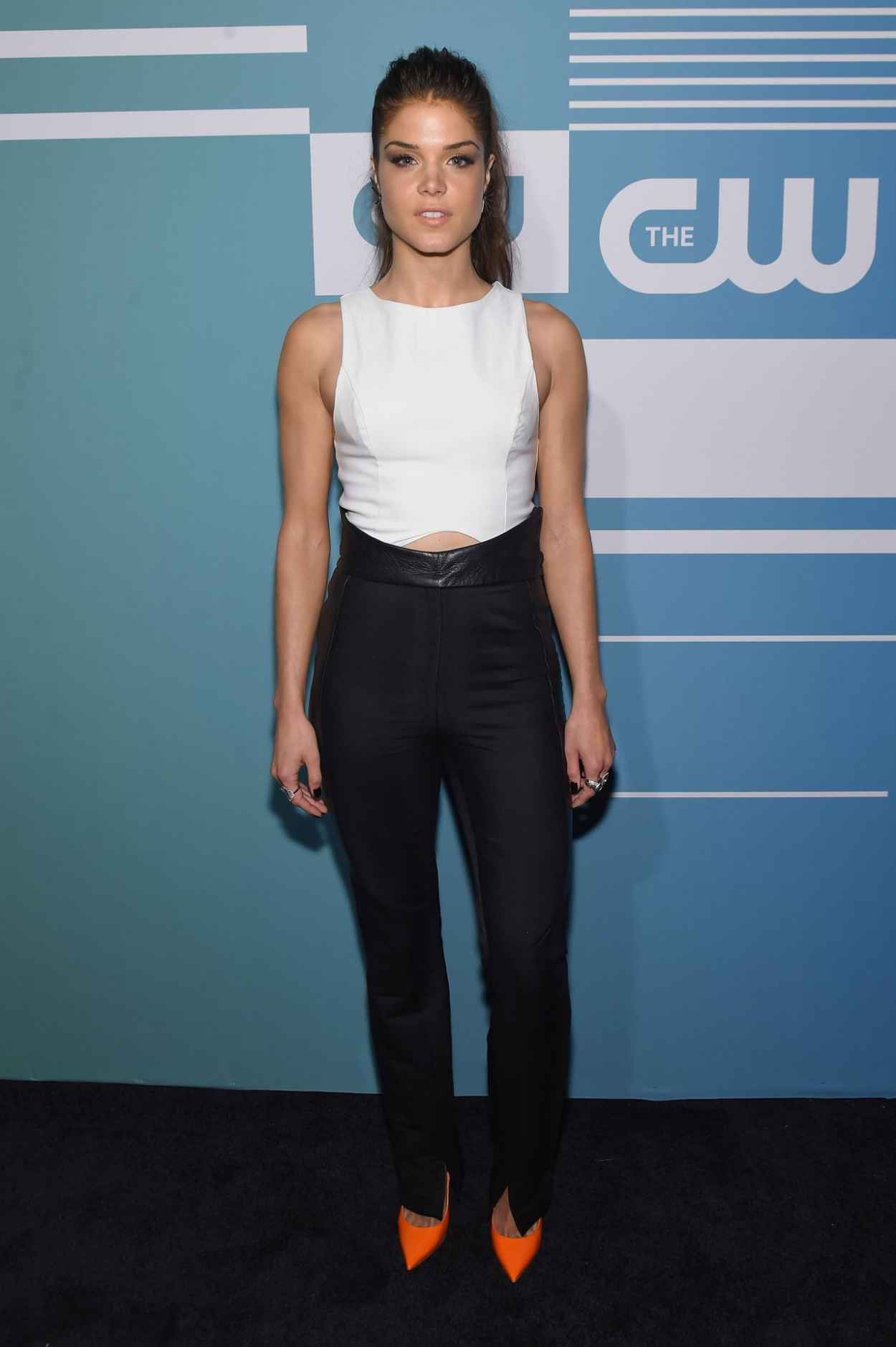 Marie Avgeropoulos At Arrivals For The Cw Upfronts 2016