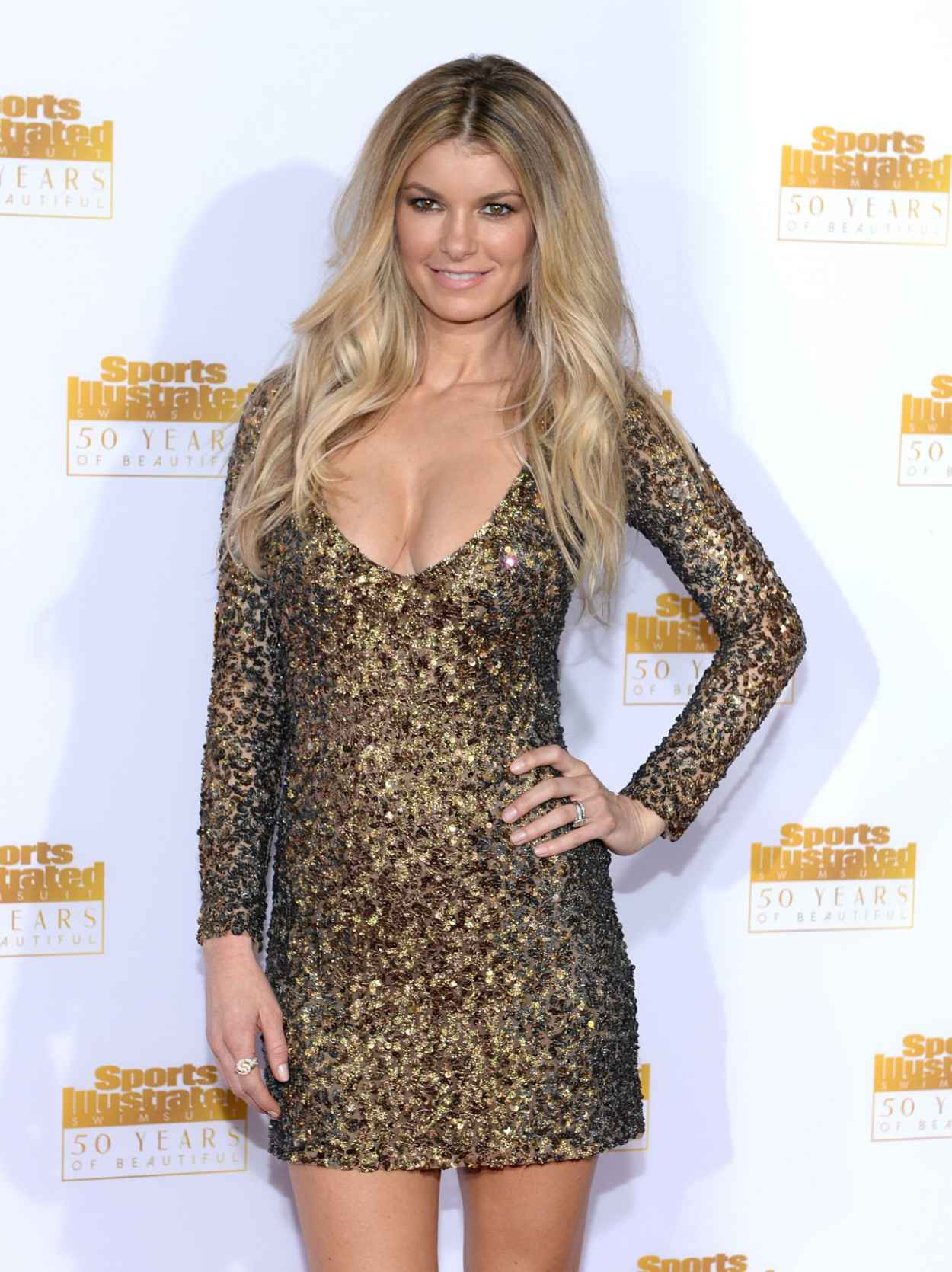 Marisa Miller at 50th Anniversary of the SI Swimsuit Issue in Hollywood-1