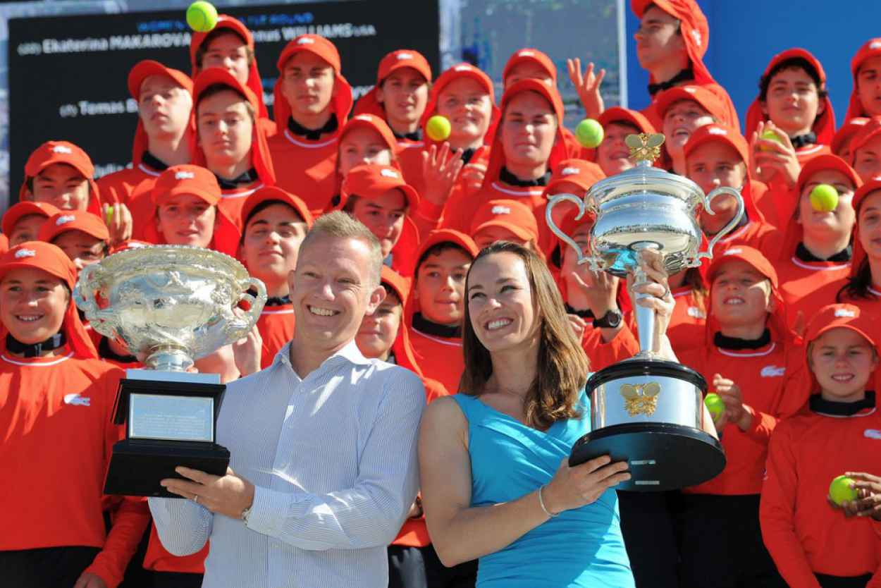 Martina Hingis - Australian Open in Melbourne, Jan 13 2015-1