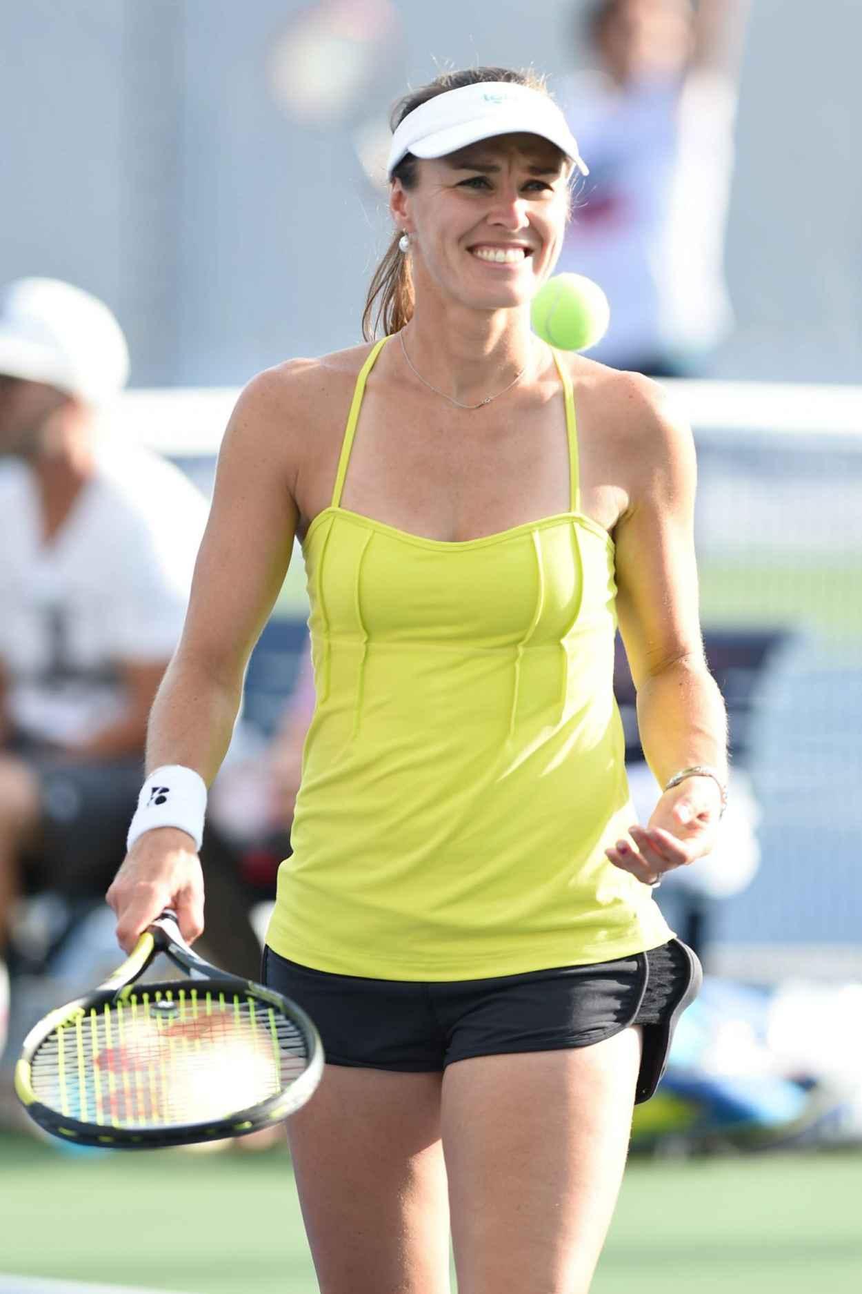 Martina Hingis Practice - U.S. Open 2015-1