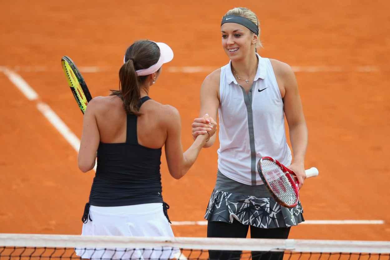 Martina Hingis & Sabine Lisicki - Italian Open 2015 in Rome-1