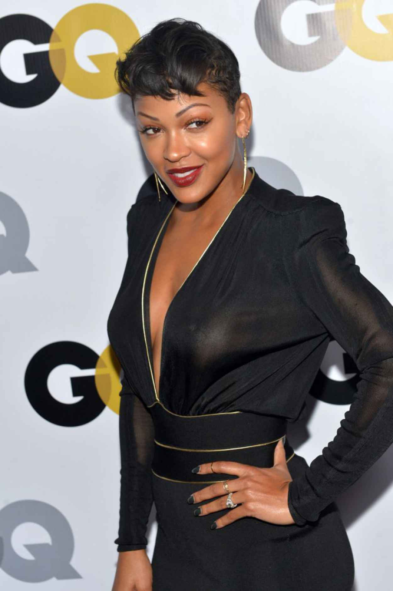 Meagan Good - GQ Men Of The Year Party in Los Angeles-1