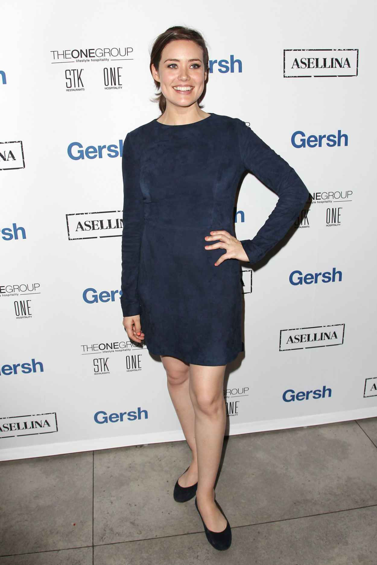 Megan Boone - 2015 Gersh Upfronts Party at Asellina at the Gansevoort in New York City-2