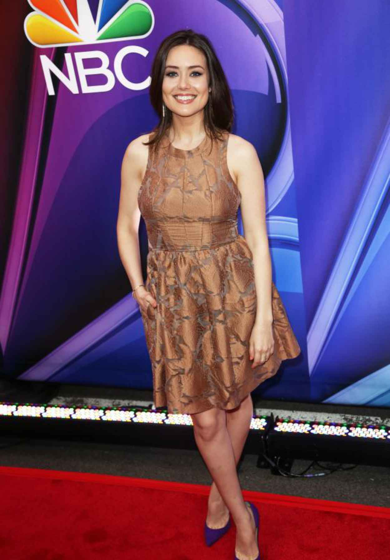 Megan Boone - 2015 NBC Upfront Presentation, Radio City Music Hall, New York-1