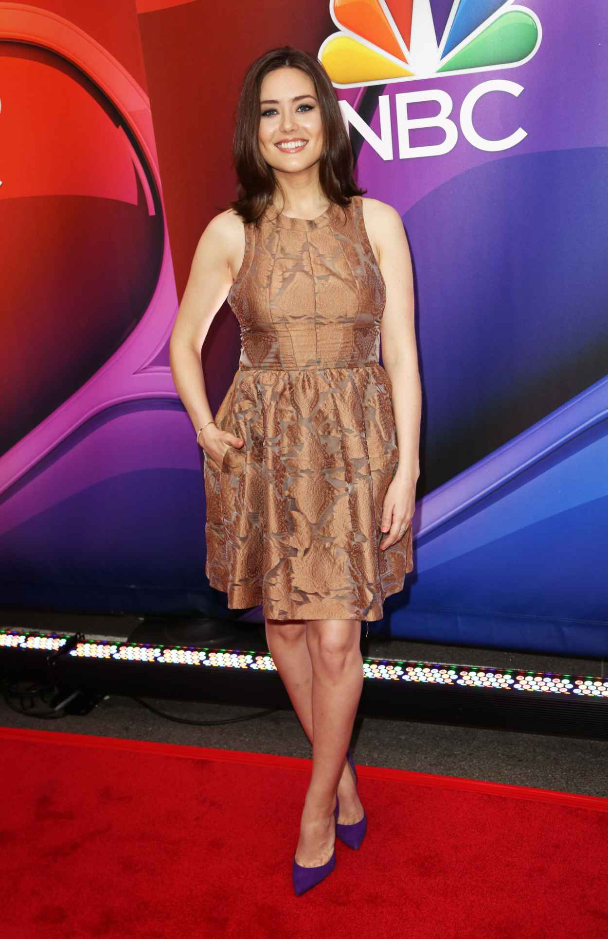 Megan Boone - 2015 NBC Upfront Presentation, Radio City Music Hall, New York-5