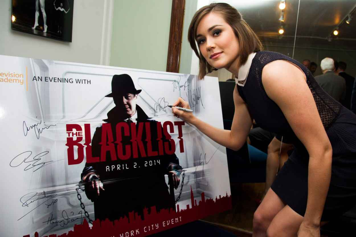 Megan Boone - An Evening With The Blacklist in New York City-1