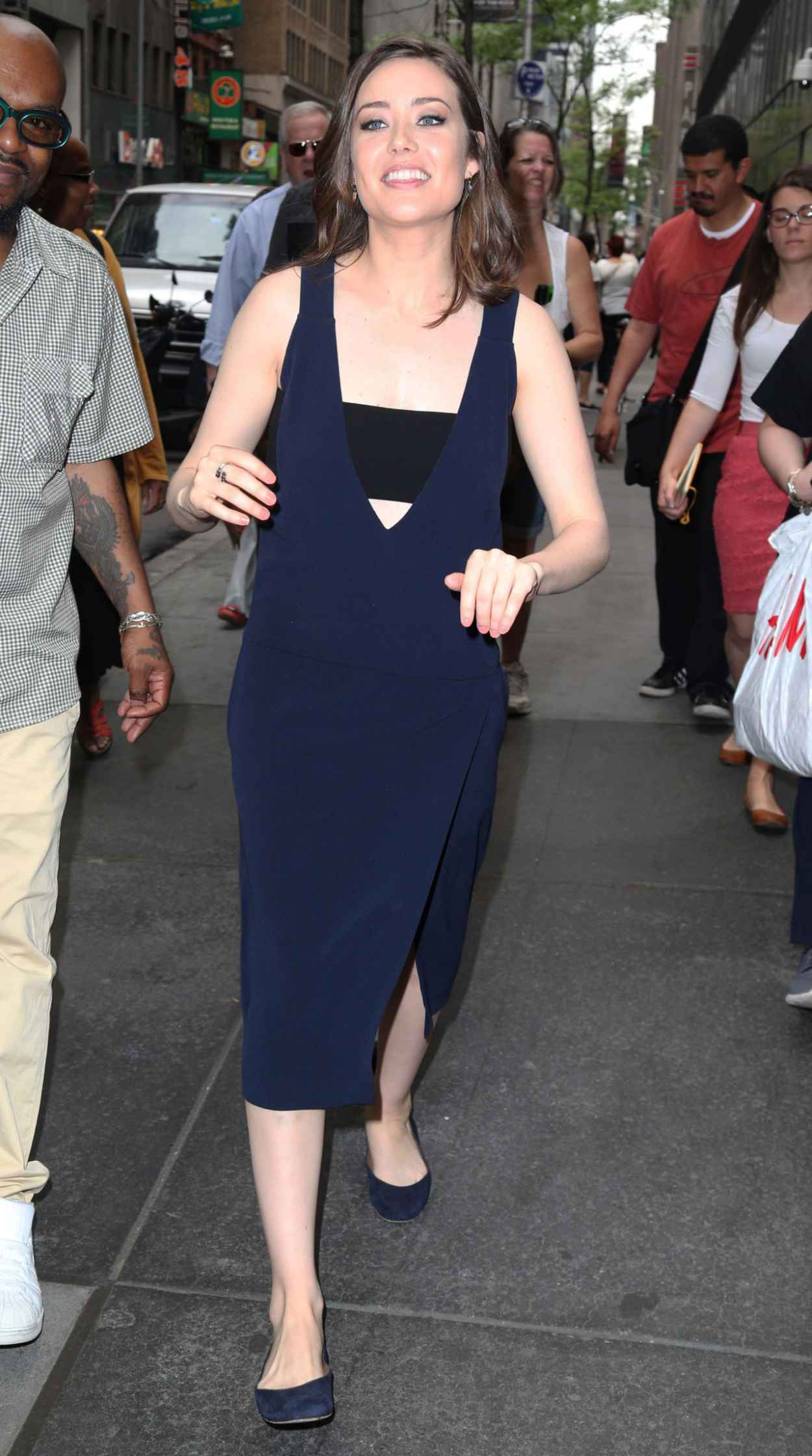 Megan Boone at the Today Show in New York City, May 2015-2