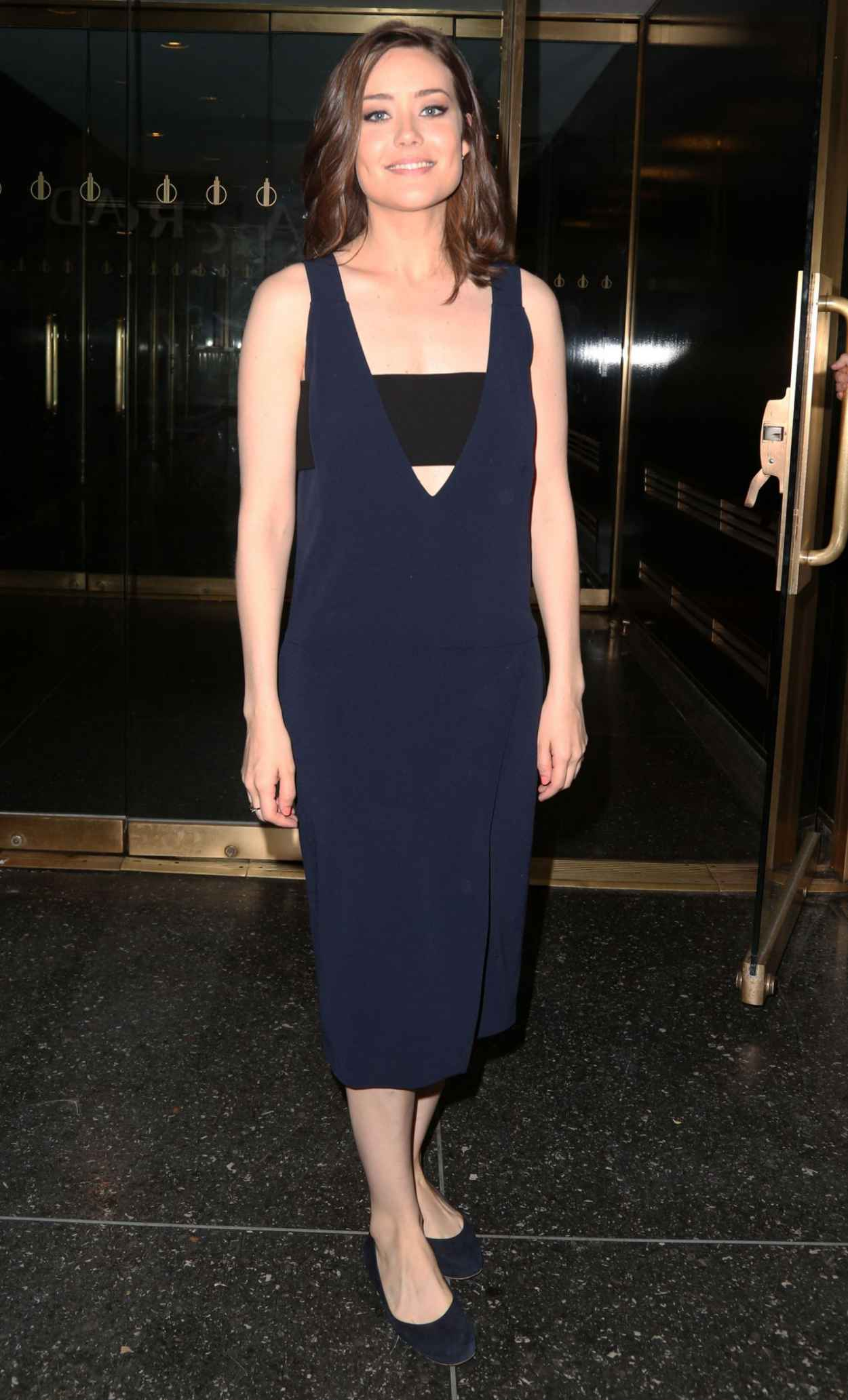 Megan Boone at the Today Show in New York City, May 2015-3