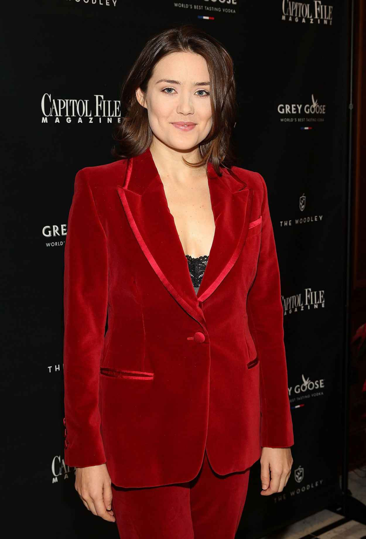 Megan Boone - Capitol File Holiday Issue Celebration in Washington D.C. - December 2015-3