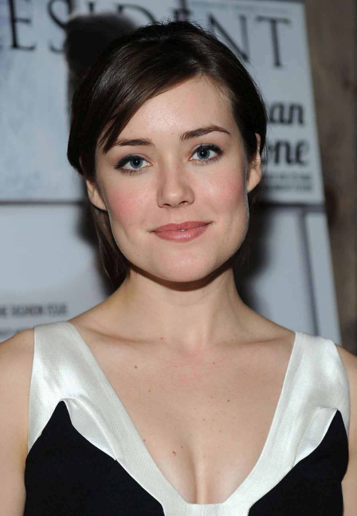 Megan Boone - Resident Magazine March 2015 Issue Celebration in New York-1