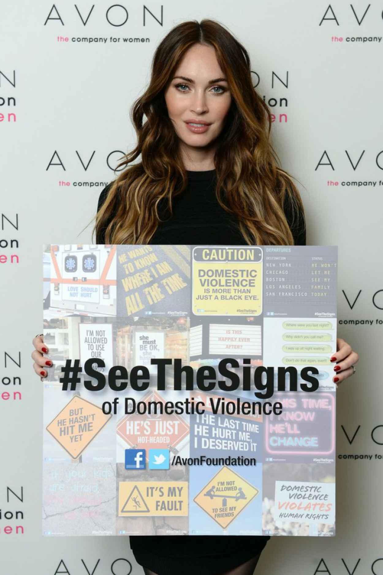 Megan Fox - Launches the Avon Foundation - November 2015-1